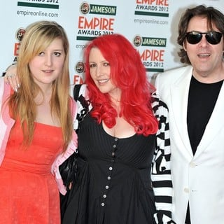 Honey Kinney, Jane Goldman, Jonathan Ross in The Empire Film Awards 2012 - Arrivals