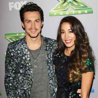 Alex Kinsey, Sierra Deaton in The X Factor Season 3 Finale - Arrivals