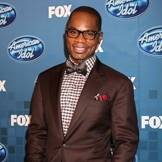 Kirk Franklin in The 2011 American Idol Finale - Press Room - kirk-franklin-2011-american-idol-finale-press-room-02