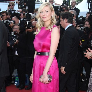 Kirsten Dunst in On the Road Premiere - During The 65th Cannes Film Festival