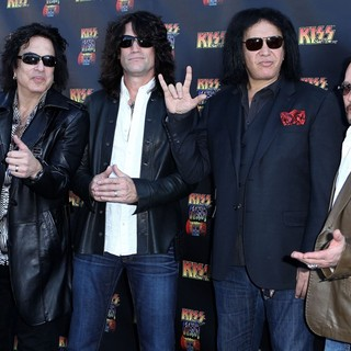 KISS in KISS by Monster Mini Golf Grand Opening - Arrivals