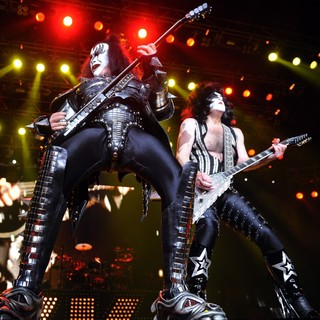 Gene Simmons - KISS Performing at Wembley Arena