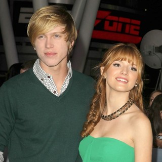 Tristan Klier, Bella Thorne in The Premiere of The Twilight Saga's Breaking Dawn Part II