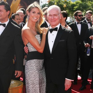Heidi Klum, Tim Gunn in 2013 Primetime Creative Arts Emmy Awards - Arrivals