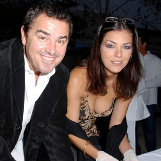 Christopher Knight, Adrianne Curry in Grand Opening of Sashi Sushi and Sake Lounge Restaurant