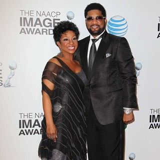 Gladys Knight, William McDowell in The 44th NAACP Image Awards