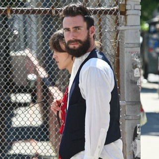 Adam Levine, Keira Knightley in Can a Song Save Your Life? Filming on Location
