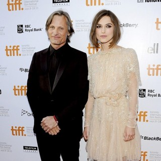 Viggo Mortensen, Keira Knightley in 36th Annual Toronto International Film Festival - A Dangerous Method - Premiere Arrivals