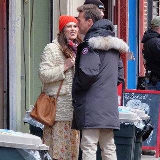 On The Set of Collateral Beauty