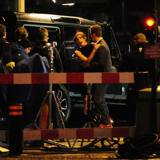 Keira Knightley, Chris Pine in Shoot Scenes for Jack Ryan Movie on Location