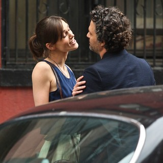 Keira Knightley, Mark Ruffalo in Filming Movie Can a Song Save Your Life?