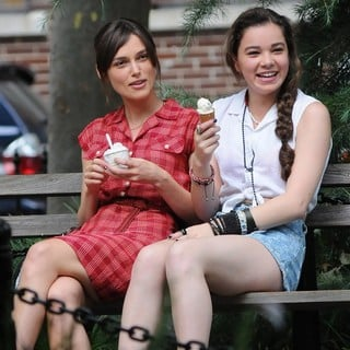 Keira Knightley in On The Set of Movie Can a Song Save Your Life? - knightley-steinfeld-set-can-a-song-save-your-life-05