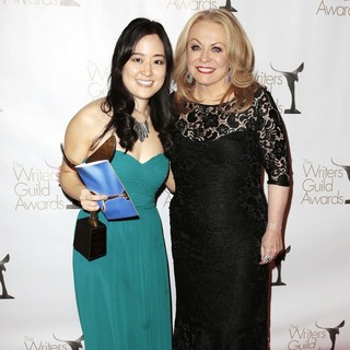 Elaine Ko, Jacki Weaver in 2013 Writers Guild Awards - Press Room