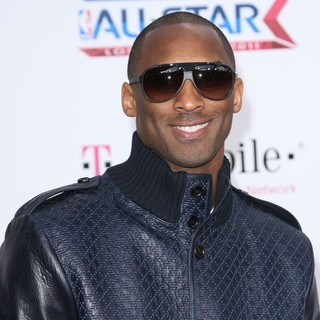 Kobe Bryant in T-Mobile Magenta Carpet at The 2011 NBA All-Star Game
