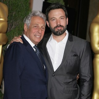 Hawk Koch, Ben Affleck in 85th Academy Awards Nominees Luncheon