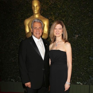 Hawk Koch, Dawn Hudson in The Academy of Motion Pictures Arts and Sciences' 4th Annual Governors Awards - Arrivals