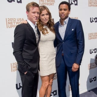 Warren Kole, Sonya Walger, Michael Ealy in The 2012 USA Network Upfront Presentation - Arrivals