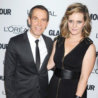 Jeff Koons, Justine Wheeler in Glamour Magazine's 23rd Annual Women of The Year Gala - Arrivals