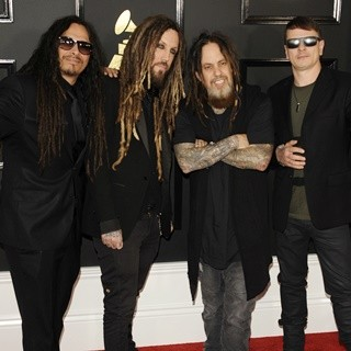 Korn in 59th Annual GRAMMY Awards - Arrivals