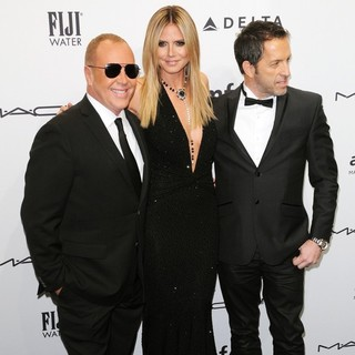 Michael Kors, Heidi Klum, Kenneth Cole in The amfAR Gala 2013