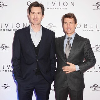 Joseph Kosinski, Tom Cruise in The Irish Premiere of Oblivion - Inside Arrivals