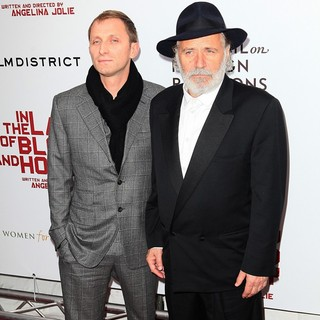 Goran Kostic, Rabe Serbedzija in Premiere of In the Land of Blood and Honey - Arrivals