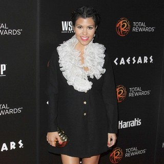 Kourtney Kardashian in Escape to Total Rewards Los Angeles
