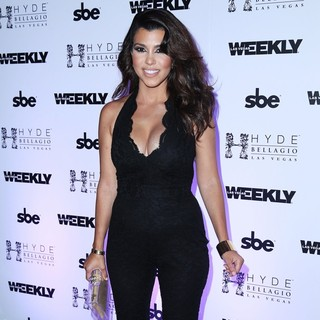 Kourtney Kardashian in Kourtney Kardashian Hosts A Wild Labor Day Weekend Bash