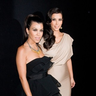 Kourtney Kardashian, Kim Kardashian in Colin Cowie and Jason Binn Host Welcome to New York Party for Kim Kardashian and Kris Humphries