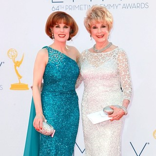 Kat Kramer, Karen Sharpe in 64th Annual Primetime Emmy Awards - Arrivals