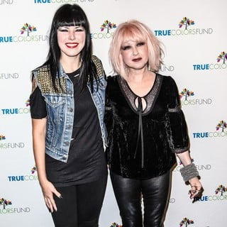 Cyndi Lauper and Friends: Home for The Holiday's Concert - Arrivals - krauss-nunn-home-for-the-holiday-s-concert-01