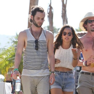 Penn Badgley, Zoe Kravitz in Celebrities at The 2012 Coachella Valley Music and Arts Festival - Week 2 Day 3