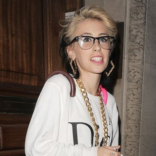 Kreayshawn in Kreayshawn Leaving The Radio 1 Studios