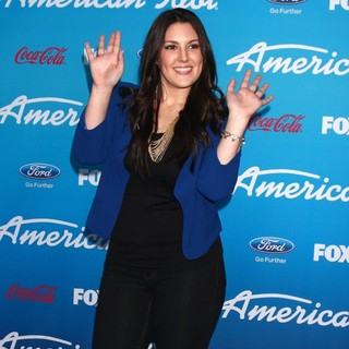 Kree Harrison in FOX's American Idol Finalists Party