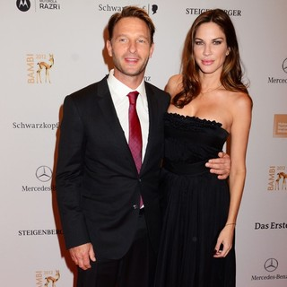 Thomas Kretschmann, Brittany Rice in Bambi Awards 2012