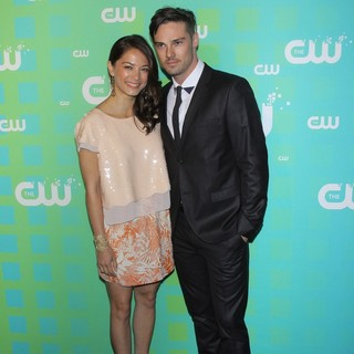 Kristin Kreuk, Jay Ryan in 2012 The CW Upfront Presentation