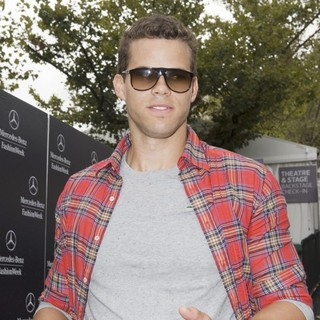 Kris Humphries in Mercedes-Benz New York Fashion Week Spring-Summer 2013 - Celebrity Outside Arrivals