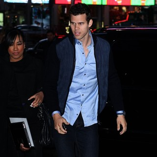 Kris Humphries in Celebrities Outside ABC Studios for Good Morning America
