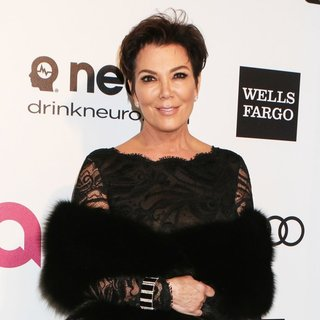 Kris Jenner in 22nd Annual Elton John AIDS Foundation Academy Awards Viewing Party - Arrivals - kris-jenner-22nd-annual-elton-john-aids-foundation-academy-awards-03