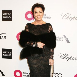 Kris Jenner in 22nd Annual Elton John AIDS Foundation Academy Awards Viewing Party - Arrivals - kris-jenner-22nd-annual-elton-john-aids-foundation-academy-awards-04