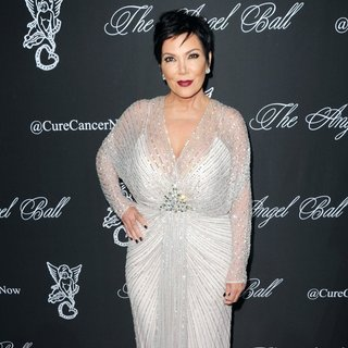 Kris Jenner in Gabrielle's Angel Foundation Hosts Angel Ball 2014 - Red Carpet Arrivals - kris-jenner-angel-ball-2014-01