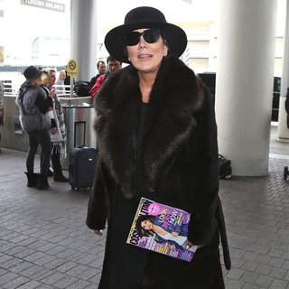 Kris Jenner Departs Los Angeles at LAX - kris-jenner-at-lax-01