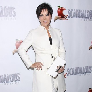 Kris Jenner in The Premiere of Scandalous The Musical - Arrivals
