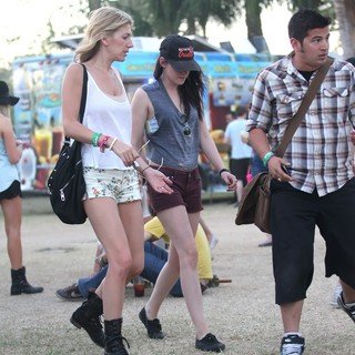 Kristen Stewart - Celebrities at The 2012 Coachella Valley Music and Arts Festival - Week 2 Day 2