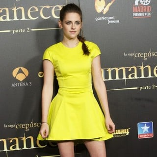 Kristen Stewart in The Twilight Saga's Breaking Dawn Part II - Madrid Premiere