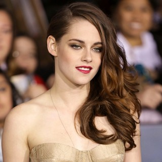 Kristen Stewart in The Premiere of The Twilight Saga's Breaking Dawn Part II