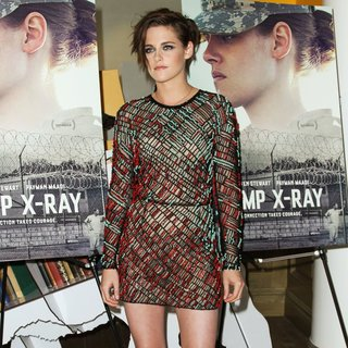 Kristen Stewart in Screening of Camp X-Ray - Arrivals