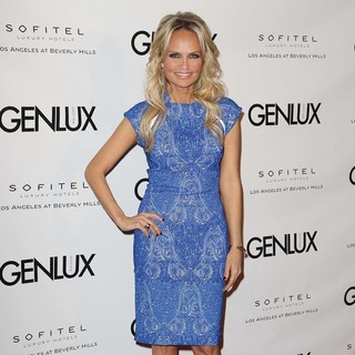 Kristin Chenoweth in Genlux Magazine Cover Girl Kristin Chenoweth Celebrates The Opening of Riviera 31