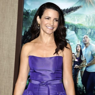 Kristin Davis in The Los Angeles Premiere of Journey 2: The Mysterious Island - Arrivals