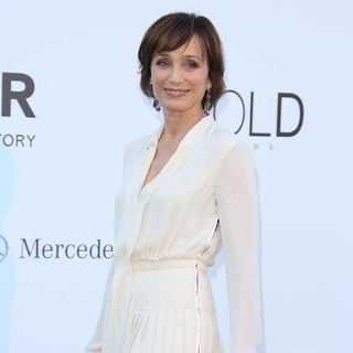 Kristin Scott Thomas in 66th Cannes Film Festival - amfAR's 20th Annual Cinema Against AIDS - Arrivals - kristin-scott-thomas-amfar-s-20th-annual-cinema-against-aids-04
